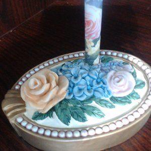 Vintage Lady Jayne Ltd Paperweight Pen Holder & Pe
